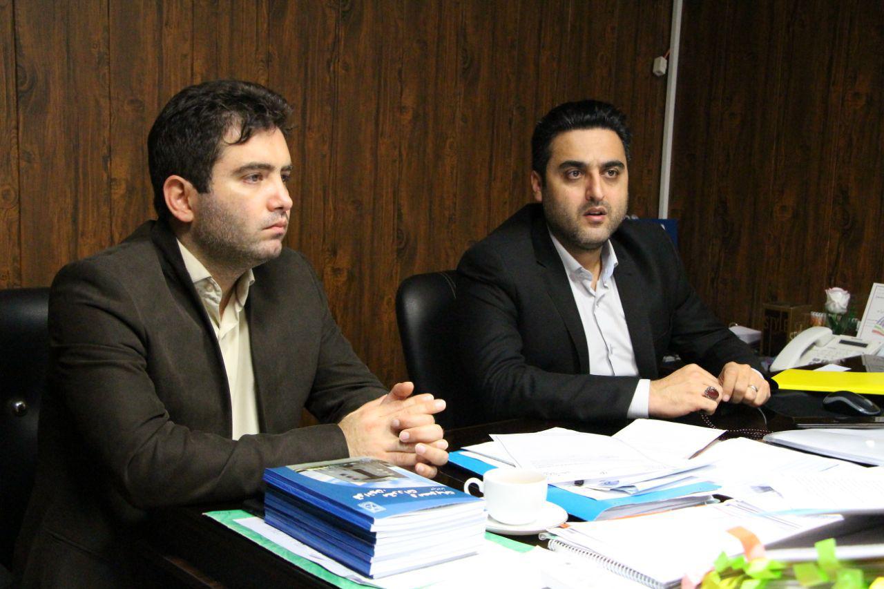 جلسه مشارکتی سازمان مدیریت پسماندهای شهرداری رشت و شهرداری منطقه ۳ در خصوص چگونگی اجرای طرح جامع تفکیک از مبدا