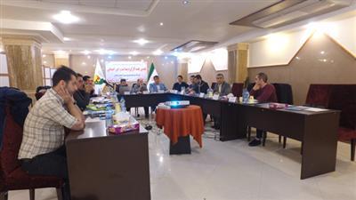 برگزاری هفتمین جلسه کارگروه بهداشت و امور اجتماعی به میزبانی شرکت توزیع نیروی برق گیلان