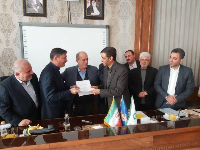 امضا موافقتنامه اجرای پروژه های عمرانی شهرداری رشت با قرارگاه سازندگی خاتم الانبیا