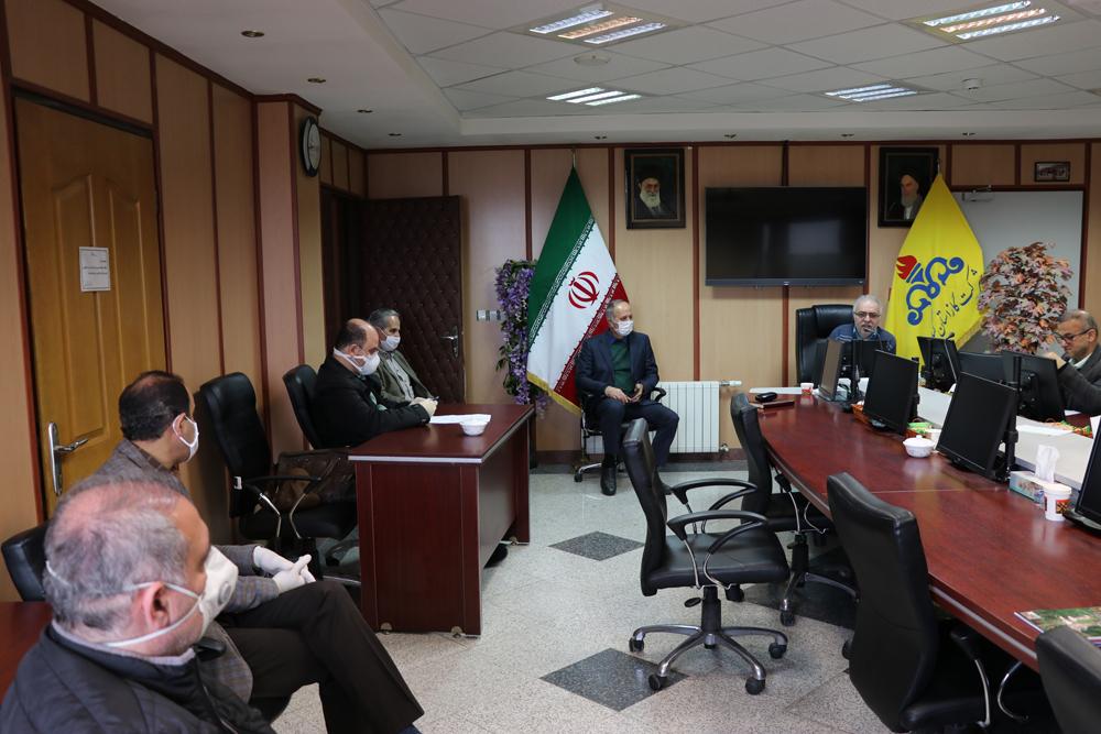 جلسه کمیته سلامت شرکت گاز استان گیلان برگزار شد