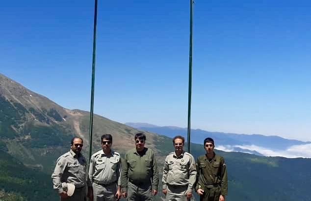 بازدید فرمانده یگان حفاظت محیط زیست کشور از پاسگاههای حفاظت محیط زیست گیلان