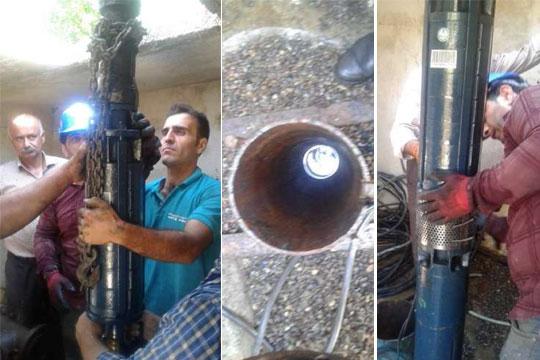 با تعویض الکتروپمپ چاه شیخ محله ۷ لیتر برثانیه آب روستاهای رضوانشهر افزایش یافت