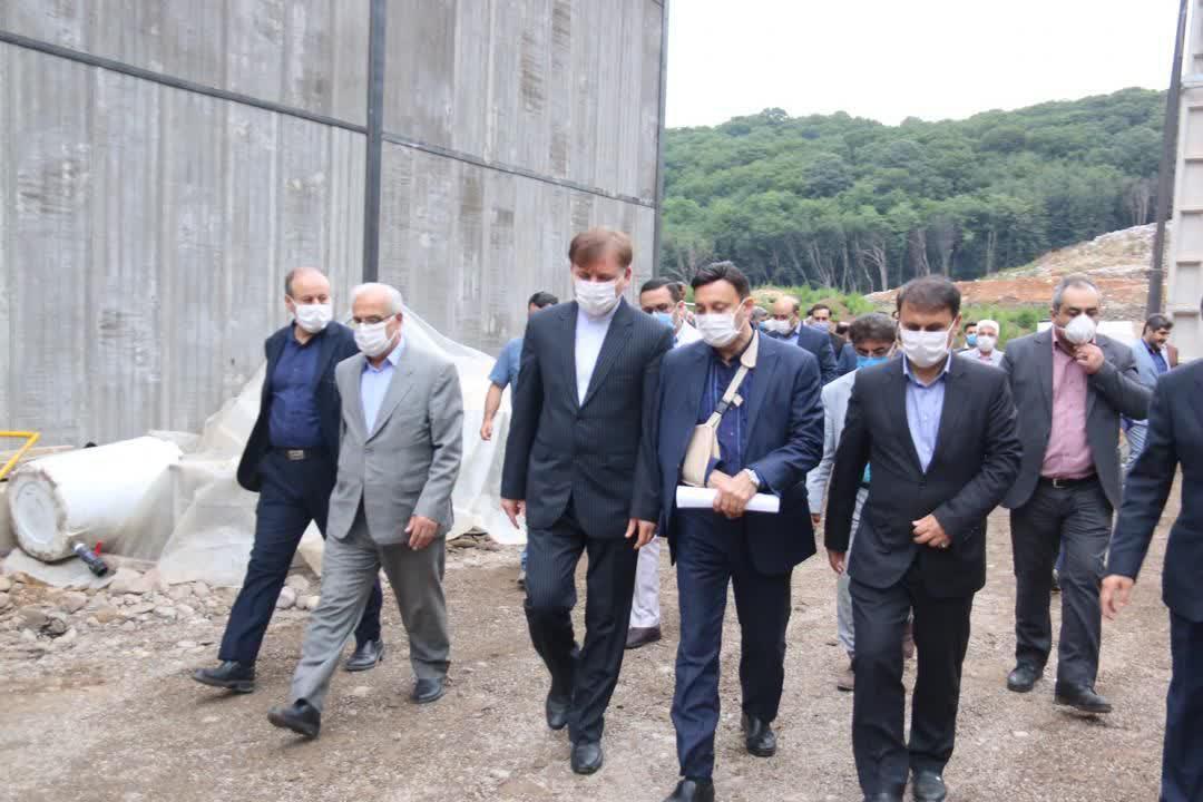 شهردار رشت خبر داد: پیشرفت ۹۹ درصدی پروژه تصفیه خانه شیرابه زباله در سراوان