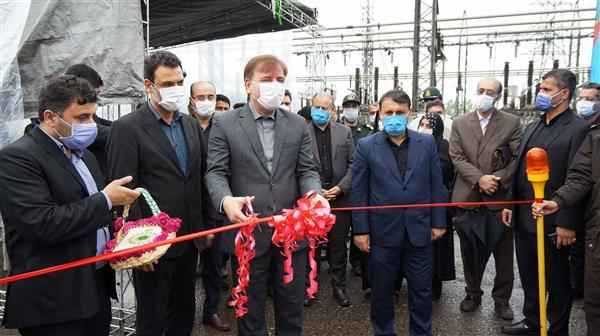 در اولین روز هفته دولت:  دو پروژه در برق منطقه ای گیلان افتتاح و به بهره برداری رسید