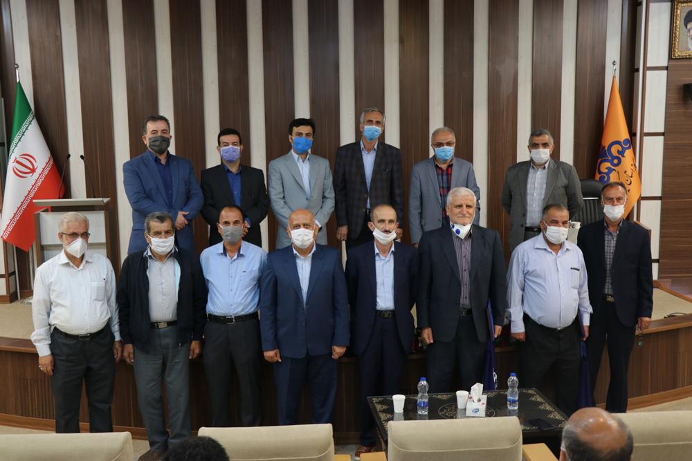 مراسم تجلیل از آزادگان و بازنشستگان شرکت گاز استان گیلان برگزار شد