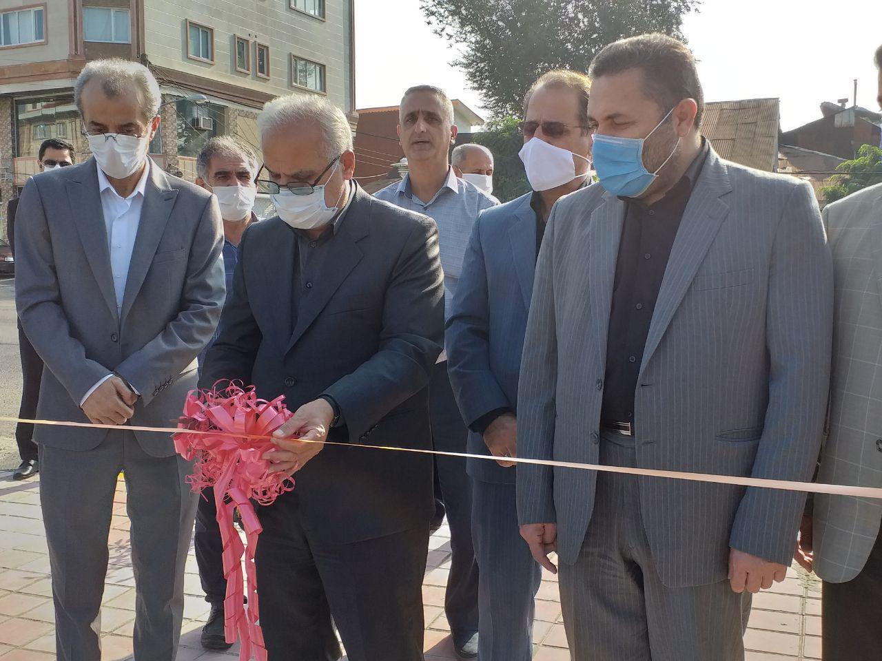 در پنجمین روز از هفته دولت صورت گرفت؛  بهرهبرداری از ۱۷ پروژه عمرانی ،اقتصادی و زیربنایی در لاهیجان