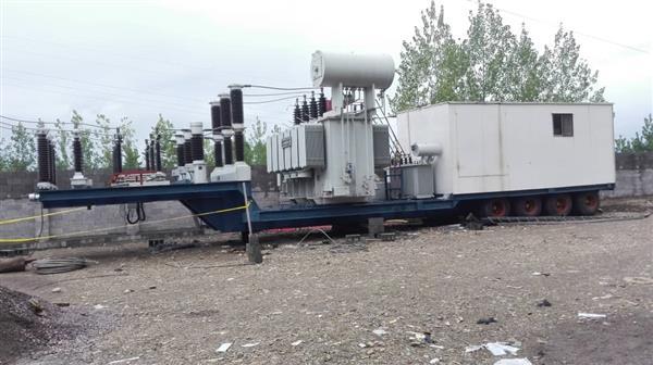 مدیر امور نظارت بر تعمیرات پست ها و خطوط شرکت سهامی برق منطقه ای گیلان:  احداث پست سیار ۶۳/۲۰ کیلوولت تولمات