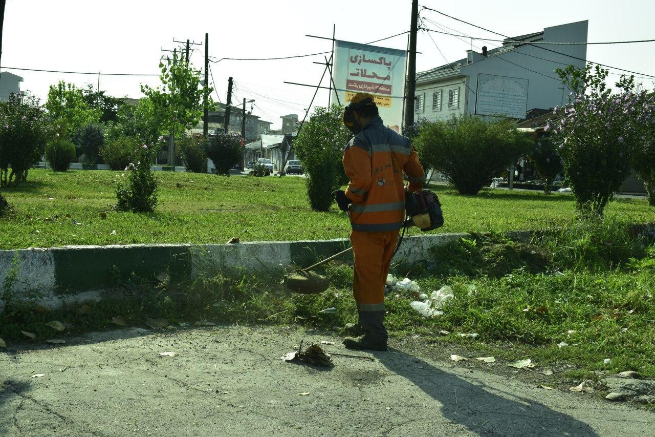 به همت سازمان مدیریت پسماندشهرداری رشت،  ویژه برنامه عملیات پاکسازی محله دیانتی به مناسبت روز جهانی پاکسازی زمین