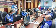 اجرای مانور مقابله با حوادث غیرمترقبه در شرکت آب و فاضلاب گیلان