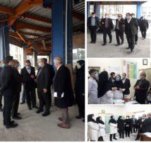 بازدید سرزده رئیس دانشگاه علوم پزشکی گیلان از پروژه کلینیک ویژه و بخشهای درمانی مرکز دانشگاهی الزهرا(س) رشت