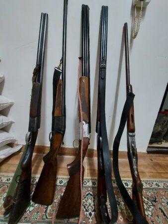 کشف و ضبط شش قبضه اسلحه شکاری غیر مجاز در لاهیجان