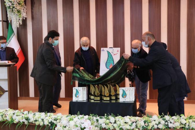 کتاب خاطرات ایثارگران شرکت گاز استان گیلان رونمایی شد