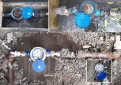 تعویض ۲۶۱ فقره کنتور خراب آب شرب در شهرستان فومن