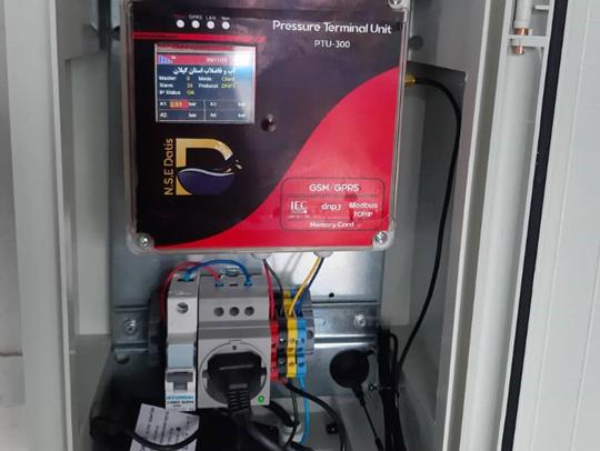 """نصب ۳ دستگاه """"دیتا لاگر فشار"""" جهت آبرسانی مناسب به مشترکین شهرستان لاهیجان"""