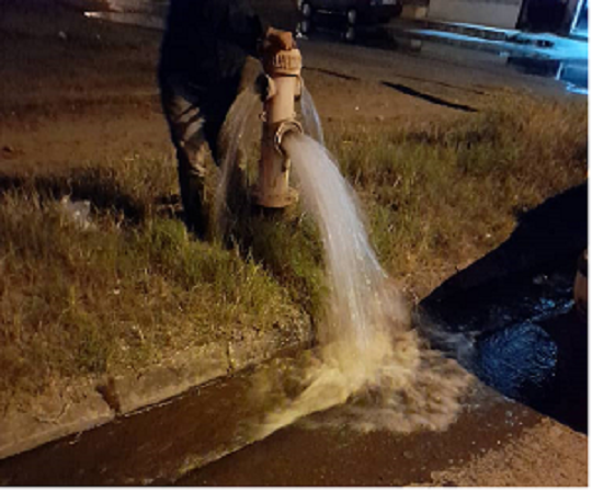شستشوی ۳۰ کیلومتر از شبکه آب شرب منطقه غازیان بندر انزلی