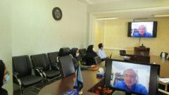 گردهمایی مجازی در مدیریت درمان گیلان با موضوع اخلاق حرفه ای در سازمانها