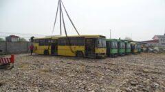 استرداد اتوبوس های توقیف شده شهرداری رشت از قزوین