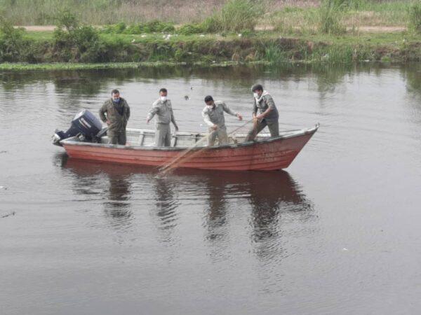 رودخانه های لنگرود پاکسازی شد