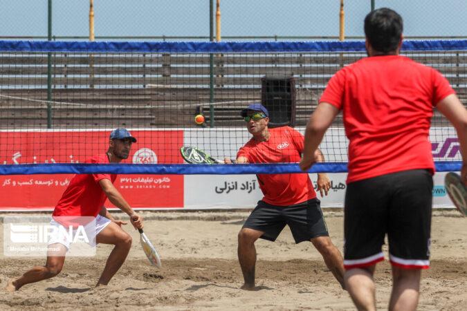 منطقه آزاد انزلی میزبان لیگ برتر تنیس ساحلی کشور