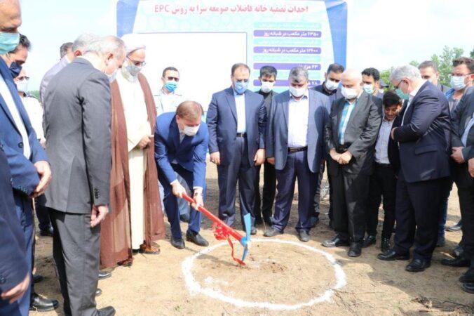 آغاز عملیات اجرایی احداث تصفیهخانه فاضلاب صومعهسرا