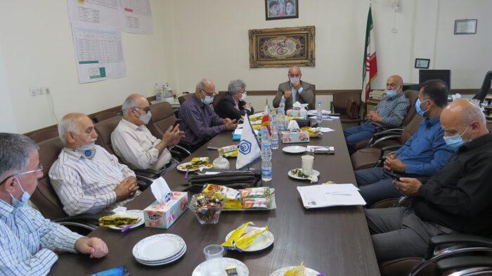 دیدار سرپرست مدیریت درمان استان گیلان با روسای کانون بازنشستگان تامین اجتماعی گیلان