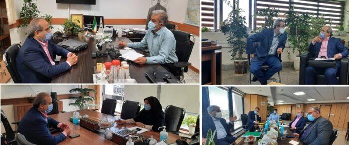پیگیری رئیس دانشگاه علوم پزشکی گیلان از مصوبات سفر مقام عالی وزارت بهداشت