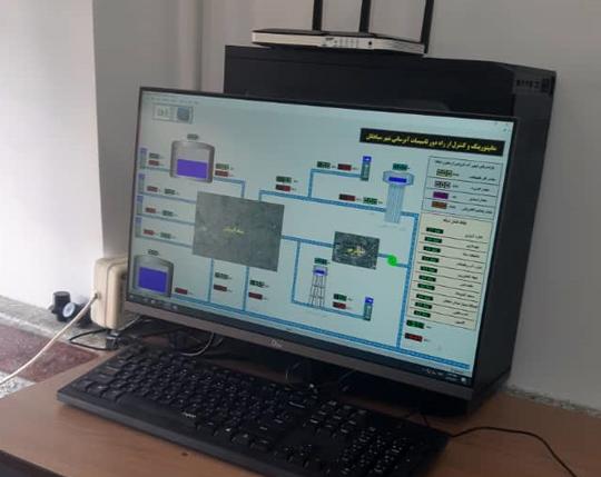 نصب ۱۰ دستگاه دیتا لاگر فشار به منظور توزیع مناسب آب در شهرستان سیاهکل