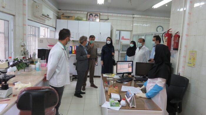 بازدید دکتر قنبرپورسرپرست مدیریت درمان استان از درمانگاه تخصصی تامین اجتماعی لاهیجان