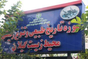تقدیر رئیس کمیته ملی موزههای ایران از موزه تاریخ طبیعی و تنوع زیستی محیط زیست گیلان