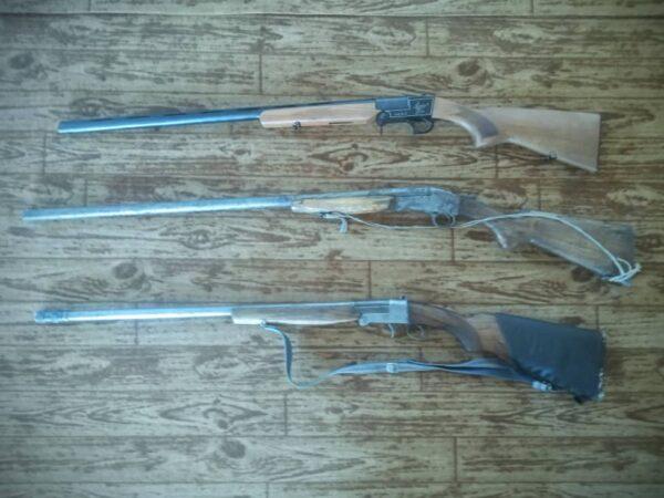 کشف و ضبط چهار قبضه سلاح غیرمجاز در سیاهکل