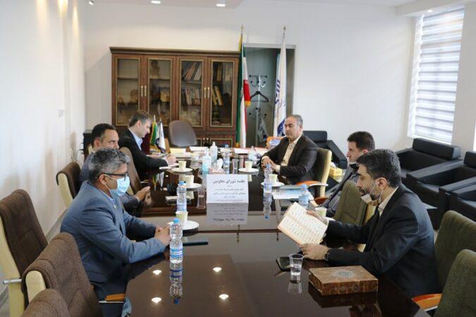 جلسه شورای معاونین با حضور معاون توسعه مدیریت و پشتیبانی سازمان نوسازی مدارس کشور