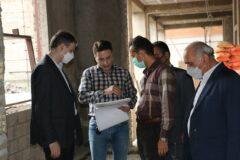 بازدید مدیرکل نوسازی مدارس گیلان از پروژه های نیمه تمام و در حال احداث شهرستان رشت
