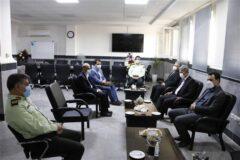 مدیر عامل برق منطقه ای گیلان با فرمانده نیروی انتظامی گیلان دیدار کرد