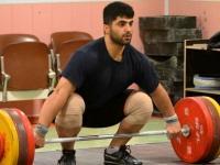 وزنه بردار گیلانی برای کسب سهمیه جهانی در اردوی تیم ملی حضور یافت