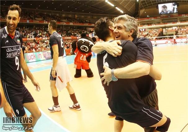 پس از ۵۲ سال:والیبال ایران المپیکی شد
