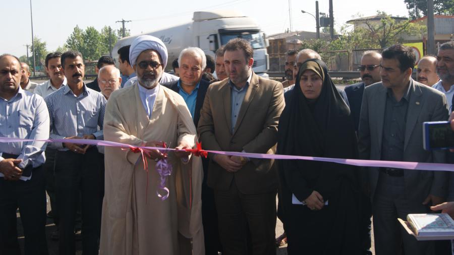 سومین روز از هفته دولت: افتتاح هشت پروژه در بخش سنگر با حضور فرماندار شهرستان رشت و هیئت همراه