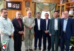 سرپرست جدید بنیاد شهید و امور ایثارگران شهرستان تالش معرفی شد