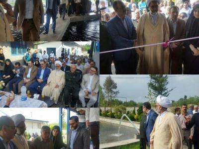 در آخرین روز از هفته دولت و با حضور فرماندار رشت؛ ۶۹ پروژه عمرانی در بخش سنگر به بهره برداری رسید