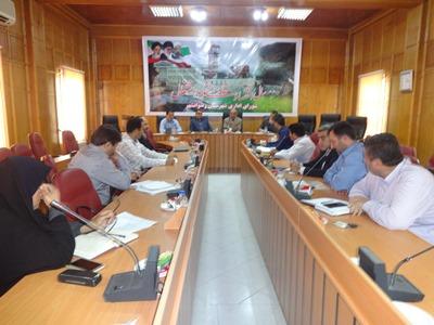 تشکیل دومین جلسه کمیته پسماند در رضوانشهر
