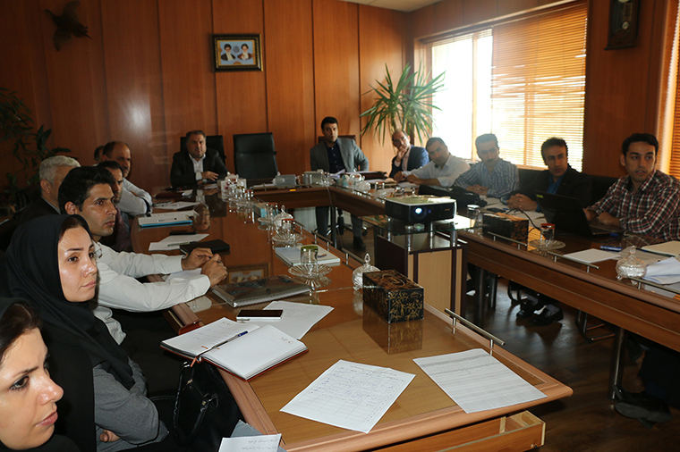 برگزاری جلسه کارگروه منطقه بندی زیست محیطی  پروژه مدیریت اکولوژیک تالاب انزلی -فاز ۲