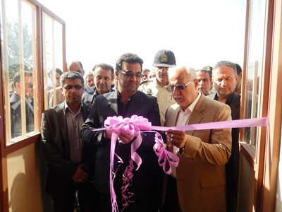 افتتاح سالن ورزشی شهدای جیرده در هفته دولت