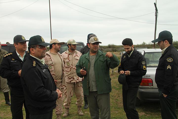 حراست ازمناطق تحت مدیریت محیط زیست توسط پرسنل یگان حفاظت محیط زیست استان گیلان