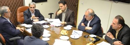 جلسه پیگیری و هماهنگی ابلاغ تفاهم نامه توسعه بنگاه های خرد، کوچک و متوسط در استان گیلان برگزار شد