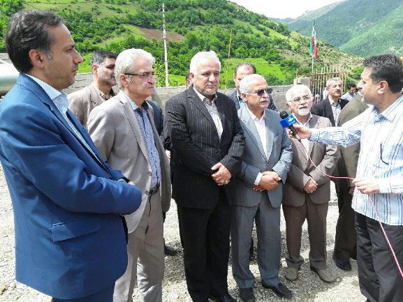آغاز عملیات اجرایی ۸پروژه خیّری در شهرستان تالش