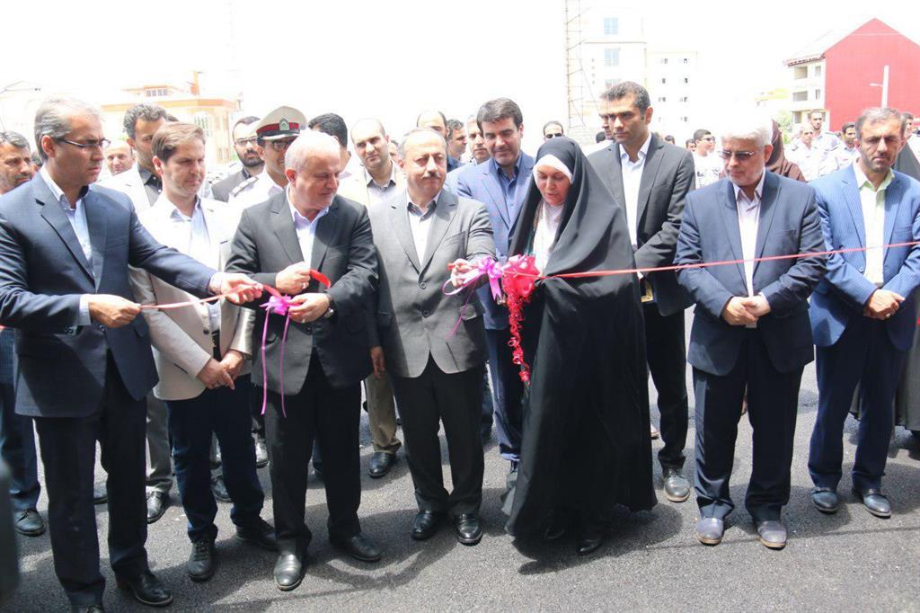 دکتر نصرتی در مراسم افتتاح ایستگاه شماره ۱۴ آتش نشانی رشت طرح کرد:  ساخت ساختمانها و پروژه های بی کیفیت در طرح و اجرا با پول شهروندان خطاست