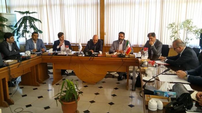 در نشست رییس شورای شهر رشت با رییس سازمان آبفا کشور:  پیگیری طرح های تصفیه فاضلاب رشت با مدل سرمایه گذار