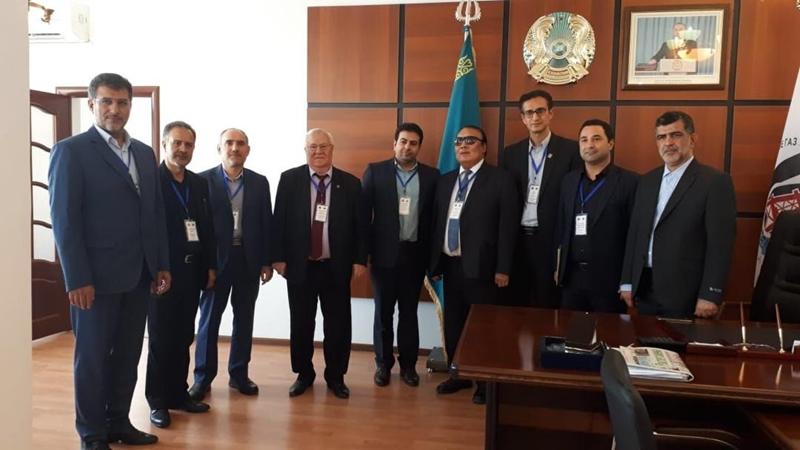 حضور دانشگاه علوم پزشکی گیلان در اجلاس دانشگاه های حاشیه دریای خزر