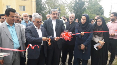 افتتاح یک طرح آبرسانی روستایی در شهرستان لاهیجان