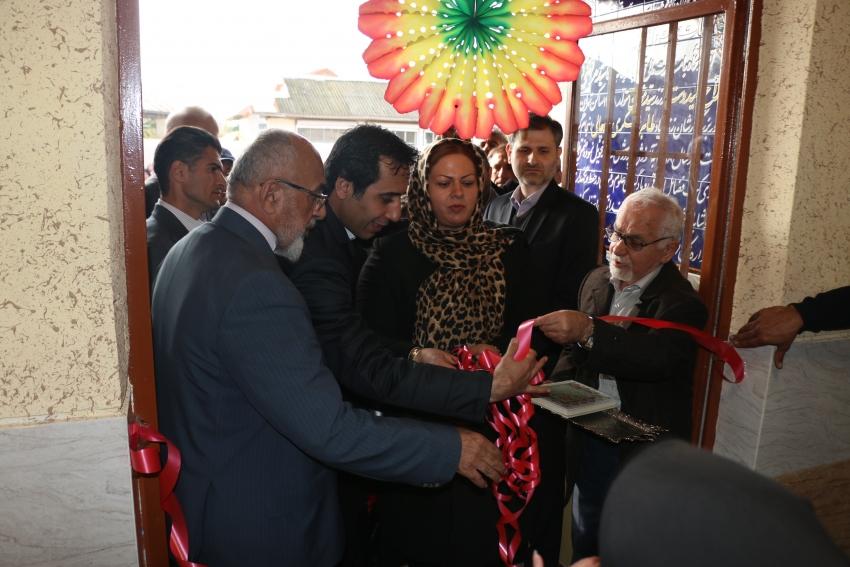 افتتاح دبستان روستای شیخعلی کلایه در لاهیجان