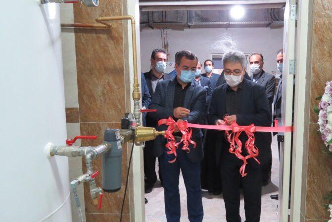 مرکز مکانیزه گازهای طبی در بیمارستان حضرت رسول اکرم (ص) افتتاح شد